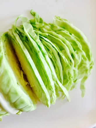 Green Cabbage Shredded 1