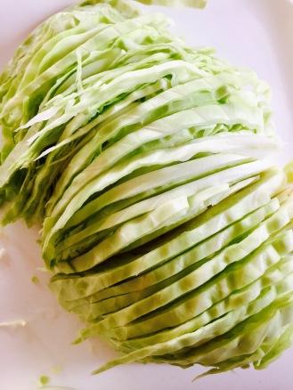 Green Cabbage Shredded 2