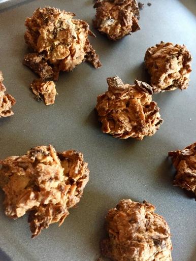 Coconut balls post bake