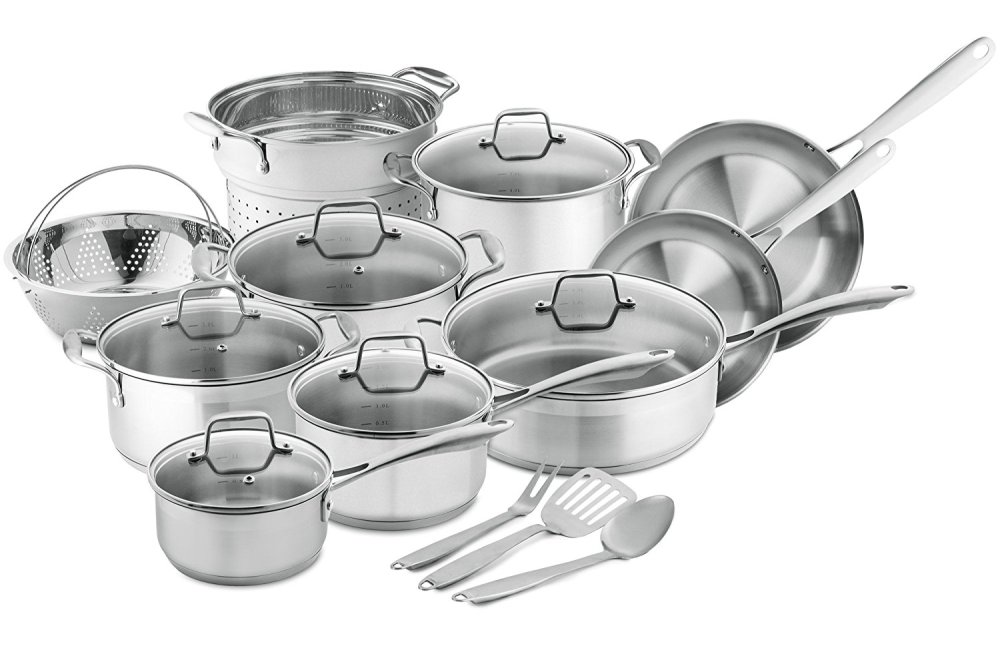 Chef's Star Professional Grade Stainless Steel Set